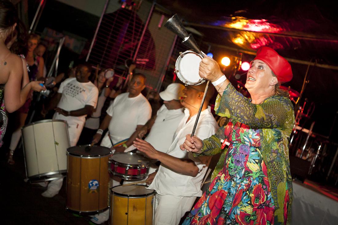 Samba Band More Balls Than Most