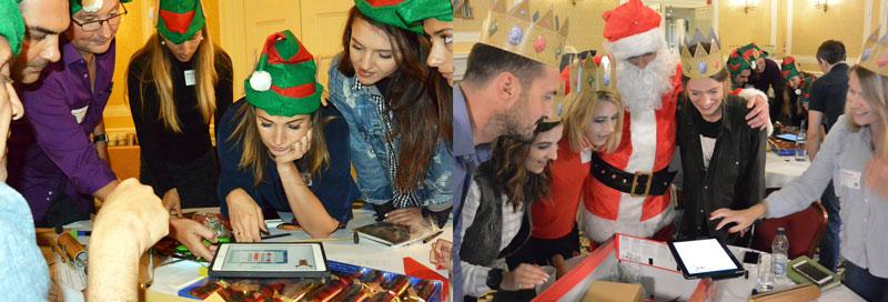 ideeen kerstfeest werk teambuilding spellen