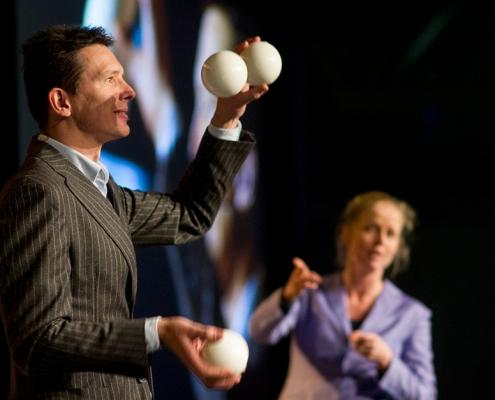 RSI voorkomen door jongleren